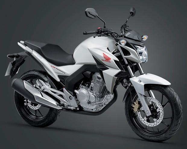 simular o financiamento da Honda Twister 250
