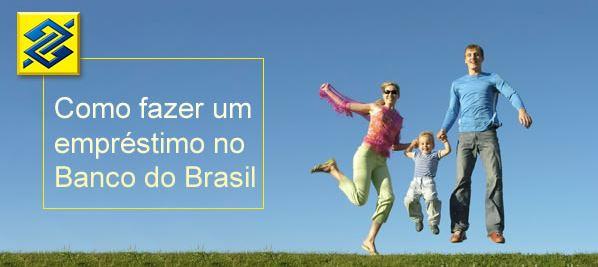 simular um empréstimo no Banco do Brasil