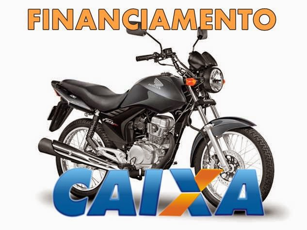 Financiamento de moto na Caixa