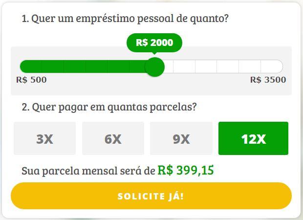 Como solicitar Empréstimo Pessoal Online Simplic até R$ 3.5mil